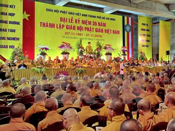 Colloque sur l'education au bouddhisme vietnamien hinh anh 1