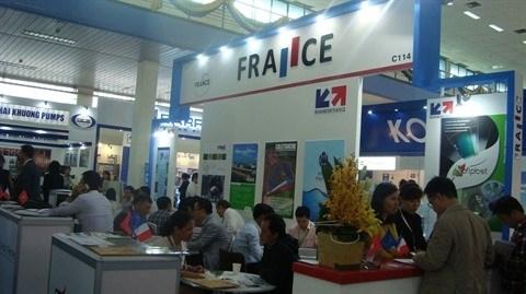 Huit entreprises francaises a VIETWATER 2016 hinh anh 1