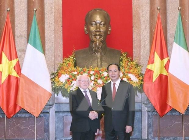 Vietnam et Irlande souhaitent promouvoir les relations de cooperation multiforme hinh anh 1