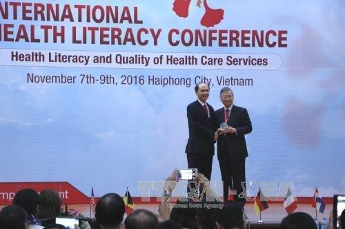 Conference «La litteratie en sante et la qualite des services de sante» a Hai Phong hinh anh 1
