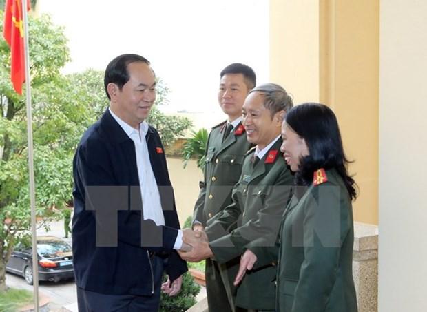 Le president demande de mettre en lumiere les affaires de corruption hinh anh 2