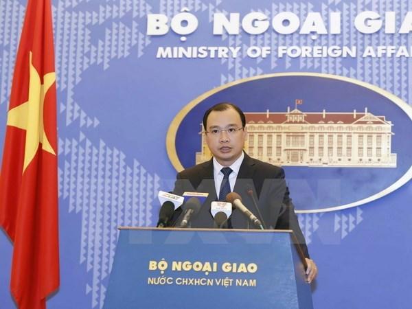 Le Vietnam felicite le nouveau president americain hinh anh 1
