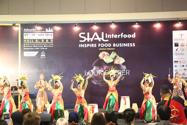 Le Vietnam presente ses produits a l'exposition alimentaire Sial InterFood en Indonesie hinh anh 1