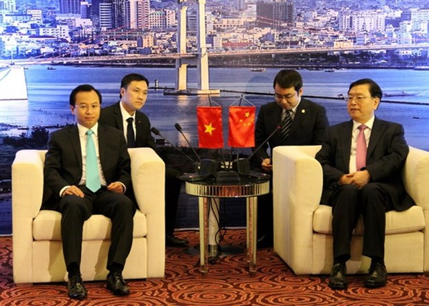 Le president du Comite permanent de l'APN Zhang Dejiang a Da Nang hinh anh 1