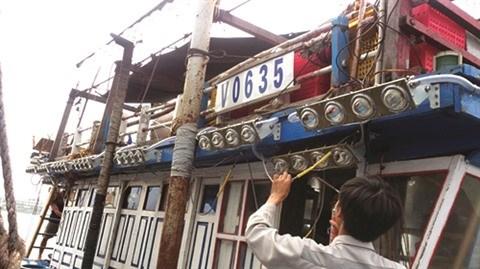 Au Centre, les LED montent a bord des bateaux de peche hinh anh 1