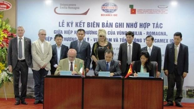 Pour faciliter la cooperation entre Binh Duong et les localites italiennes hinh anh 1