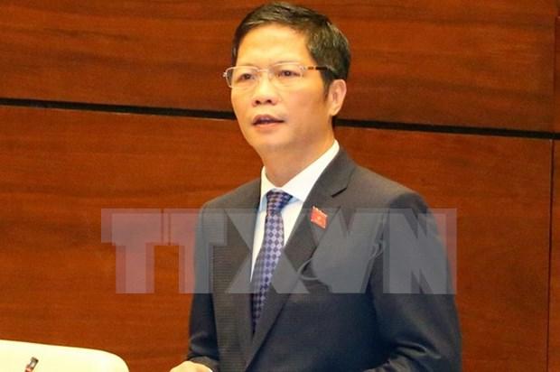 Le ministre de l'Industrie et du Commerce inaugure les interpellations a l'AN hinh anh 1
