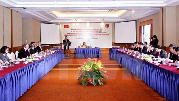 Dialogue entre le PCV et le PSD allemand hinh anh 1