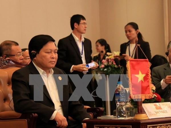 Ouverture de la reunion restreinte des ministres de la Defense de l'ASEAN hinh anh 1