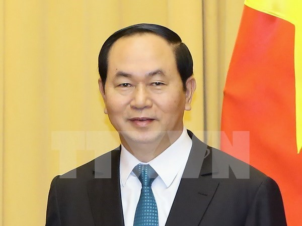 Le president Tran Dai Quang et son epouse effectueront une visite d'Etat en Italie hinh anh 1