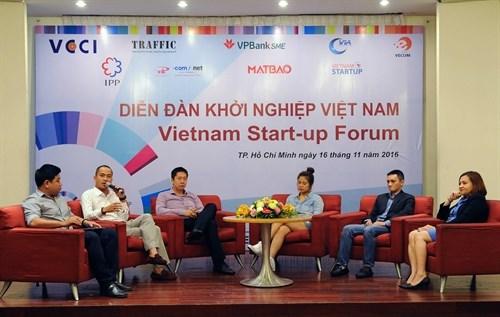 Forum des start-up du Vietnam a Ho Chi Minh-Ville hinh anh 1