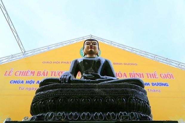 Tay Ninh accueillera la statue du Bouddha de Jade pour la paix universelle hinh anh 1