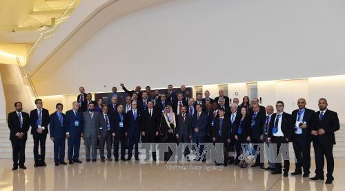 Le Vietnam present au 5e Congres mondial de la presse a Bakou hinh anh 1