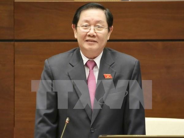 AN: le ministre de l'Interieur explique le travail de personnel et la reforme salariale hinh anh 1