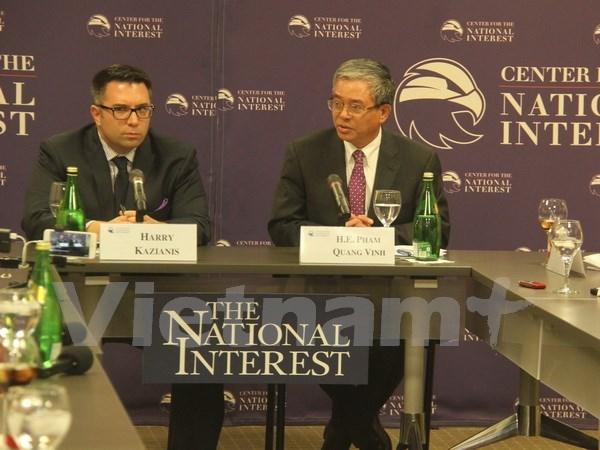 Le Vietnam va renforcer ses relations de partenariat integral avec les Etats-Unis hinh anh 1