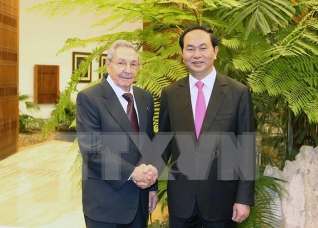 Declaration commune Vietnam-Cuba hinh anh 1