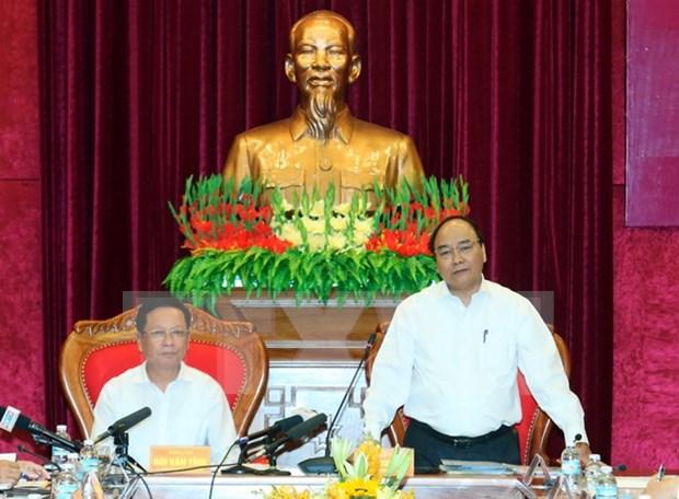 Le PM plaide pour le developpement de l'agriculture bio a Hoa Binh hinh anh 1