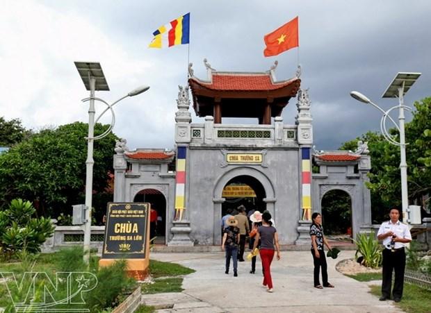 La pagode de Truong Sa Lon, une « borne religieuse » aux confins du pays hinh anh 1