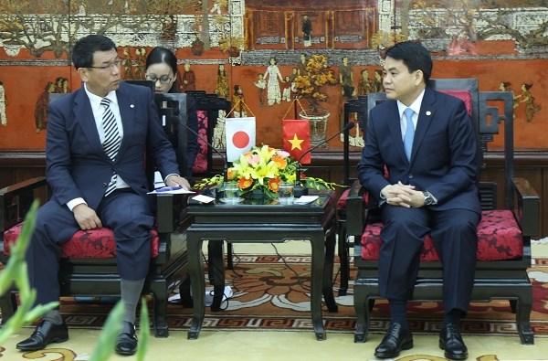 Hanoi coopere avec la prefecture japonaise de Fukuoka dans plusieurs domaines hinh anh 1