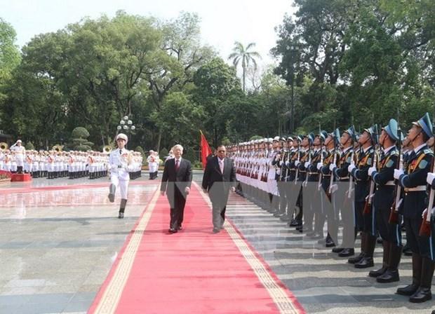 Le chef du PCV au Laos pour consolider et approfondir les liens hinh anh 1