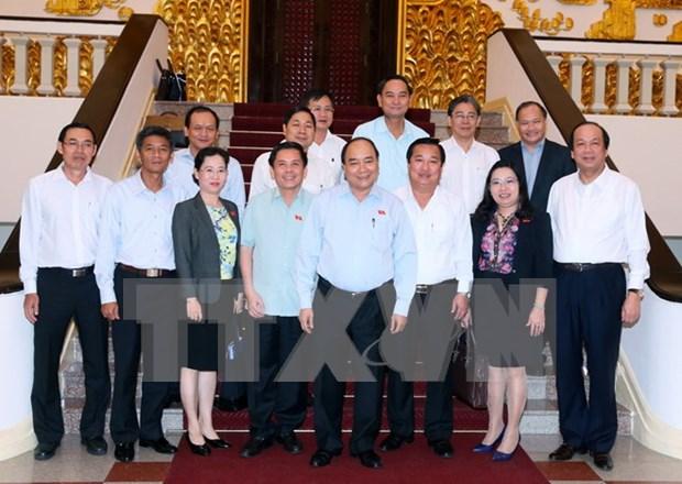 Le PM propose a Soc Trang de developper le tourisme et d'accelerer la restructuration agricole hinh anh 1