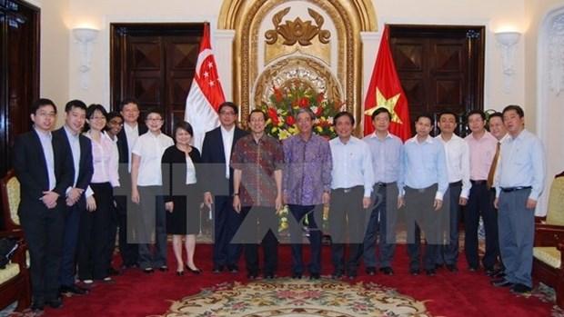 Vietnam-Singapour : 10e consultation politique entre les ministeres des AE hinh anh 1