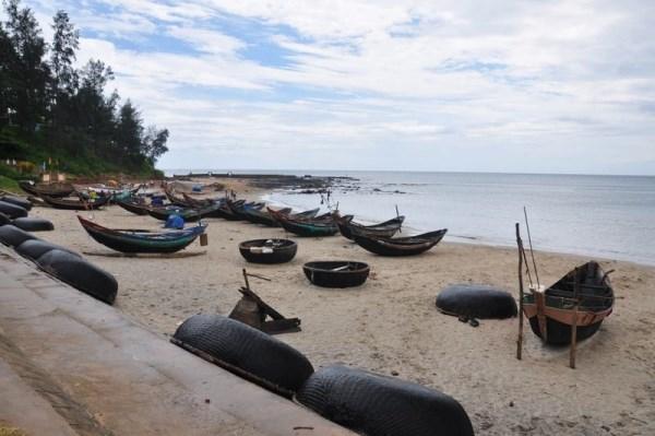 Le charme de la plage de Cua Tung hinh anh 1
