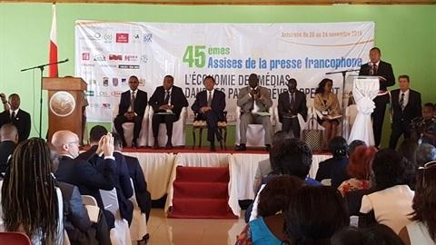 Madagascar : ouverture des 45es Assises de la presse francophone a Antsirabe hinh anh 2