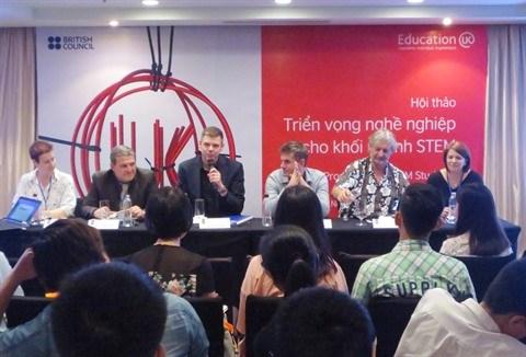 STEM : colloque a Hanoi sur les perspectives professionnelles hinh anh 1
