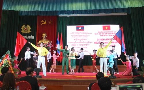 Celebration de la Fete nationale du Laos a Thai Nguyen hinh anh 1