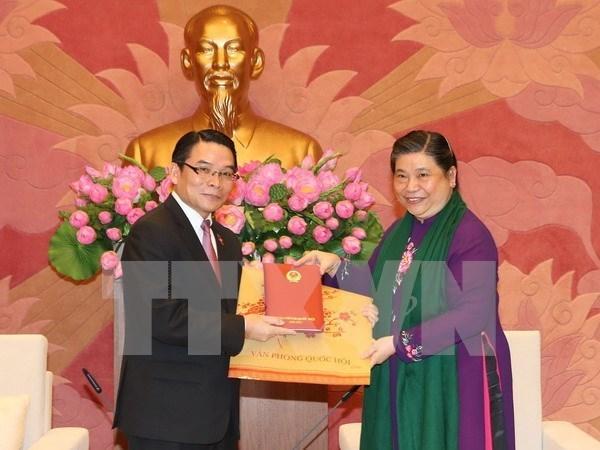 Renforcement les liens entre le Vietnam et le Laos hinh anh 1