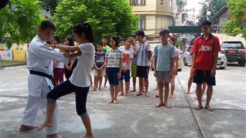 Hanoi: Une classe d'arts martiaux pas comme les autres hinh anh 2