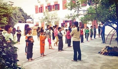 Hanoi: Une classe d'arts martiaux pas comme les autres hinh anh 1