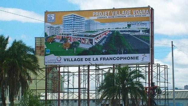 Ouverture du stand vietnamien au village de la Francophonie 2016 a Madagascar hinh anh 1