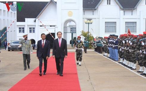 Le Vietnam souhaite cooperer avec Madagascar dans l'agriculture, le commerce et l'investissement hinh anh 1