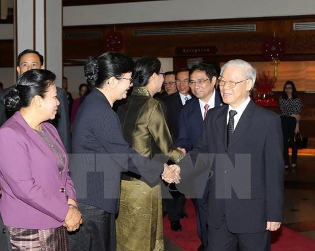 A Bolikhamxay, le chef du PCV salue les liens excellents avec le Laos hinh anh 1