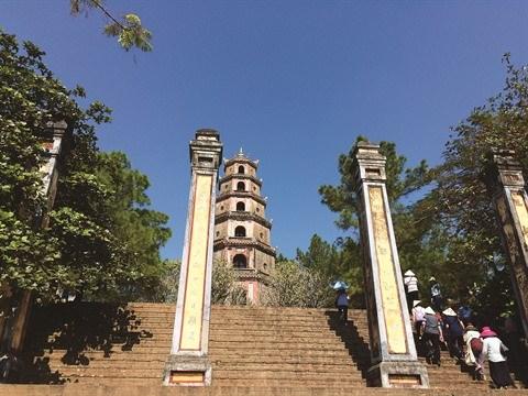 Thien Mu, la plus ancienne pagode de la cite imperiale de Hue hinh anh 1