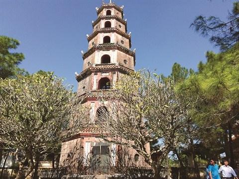 Thien Mu, la plus ancienne pagode de la cite imperiale de Hue hinh anh 2
