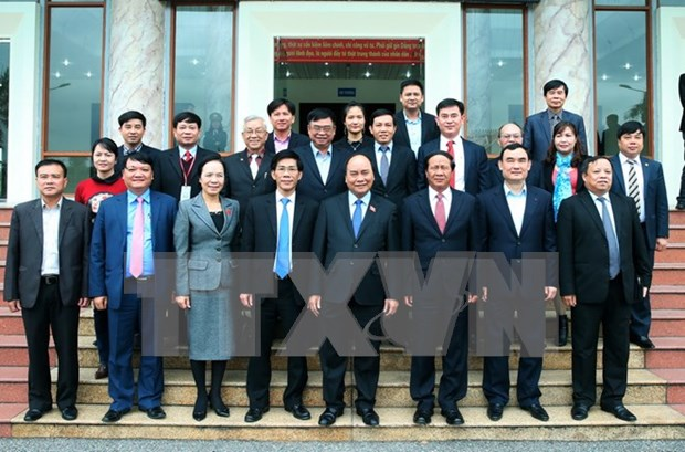 Hai Phong : le Premier ministre rencontre les electeurs de l'arrondissement de Hai An hinh anh 1
