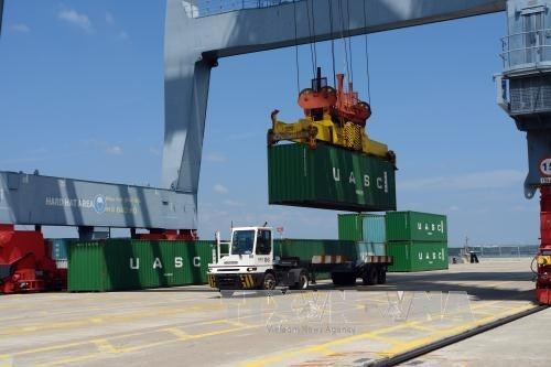 Le terminal a conteneurs Tan Cang-Cai Mep accueille le millionieme TEU hinh anh 1