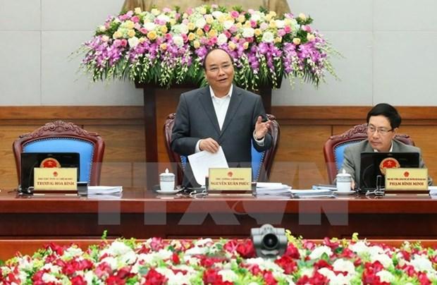 Le PM demande des efforts maximums pour atteindre les objectifs socioeconomiques de 2016 hinh anh 1