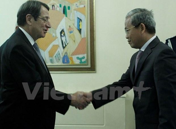 Le Vietnam et la Republique de Chypre intensifient leur cooperation hinh anh 1