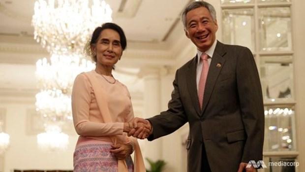 Singapour et le Myanmar engagent la negociation d'un traite sur l'investissement hinh anh 1