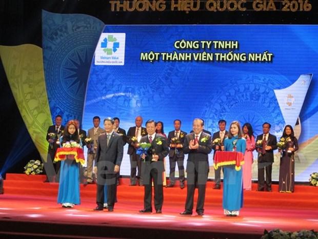 88 entreprises ont obtenu le label national 2016 hinh anh 1