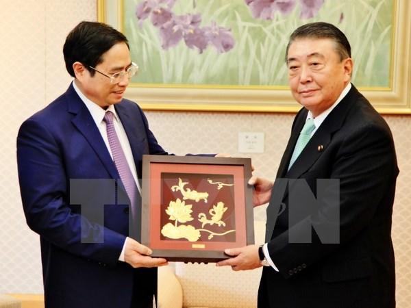 Le Vietnam et le Japon reaffirment leur partenariat strategique hinh anh 1