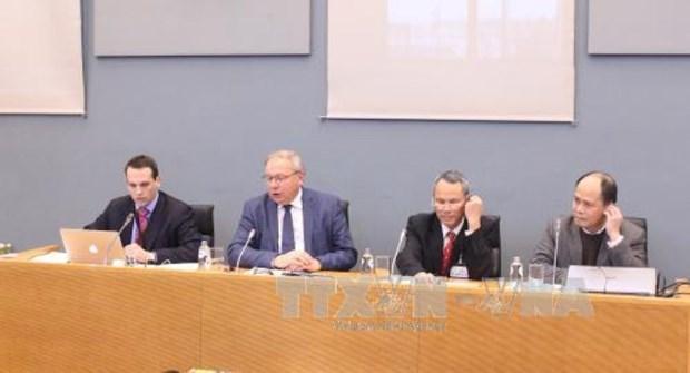 Le Parlement wallon discute de l'accord de libre-echange Vietnam-UE hinh anh 1