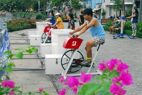 Au Vietnam, la pratique sportive fait des emules hinh anh 1