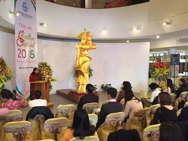 Des Vietnamiennes mariees reunies sous le signe de la connexion et du partage hinh anh 1