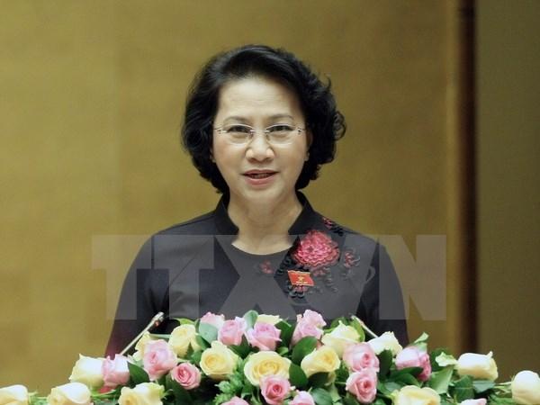 La presidente de l'Assemblee nationale du Vietnam attendue en Inde et aux EAU hinh anh 1