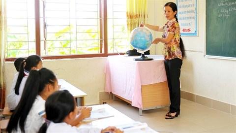 Au district insulaire de Van Don, le sacerdoce des enseignants hinh anh 2